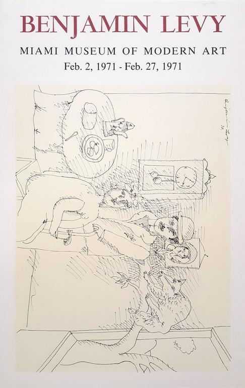 Miami Museum of Modern Art: Benjamin Levy - Print by Benjamin Levy
