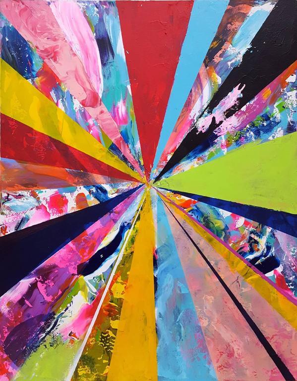 Jack Graves III Abstract Painting - Diamond IV