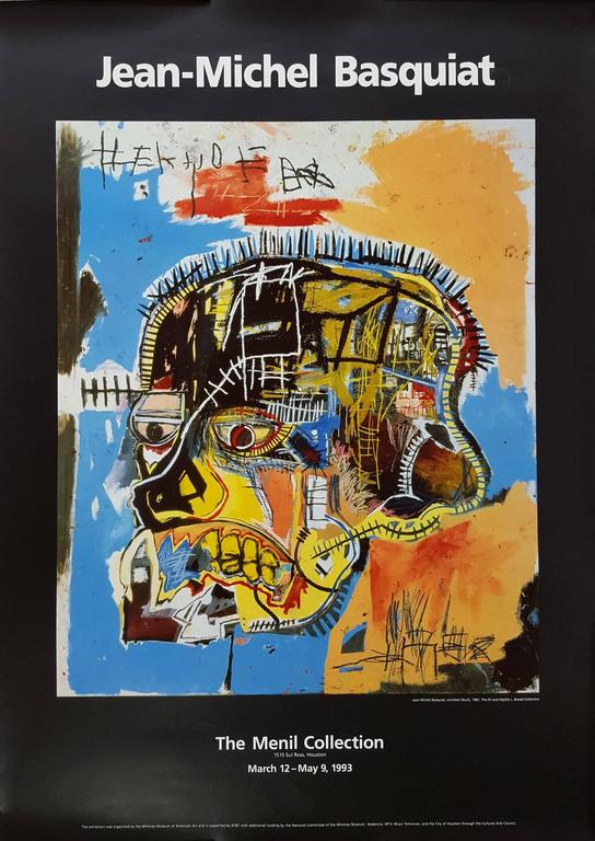 (after) Jean-Michel Basquiat - Untitled (Skull) 1