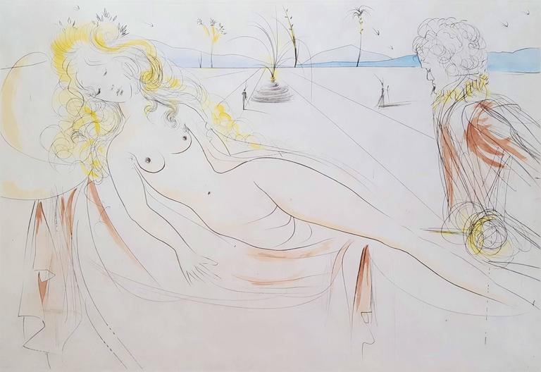 Venus et Le Joueur d'Orgue (Venus and the Organ-Player) (A.F.66.E)