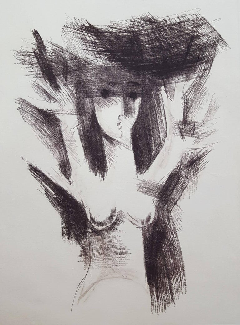 Albrecht Steinert Nude Print - Daphne
