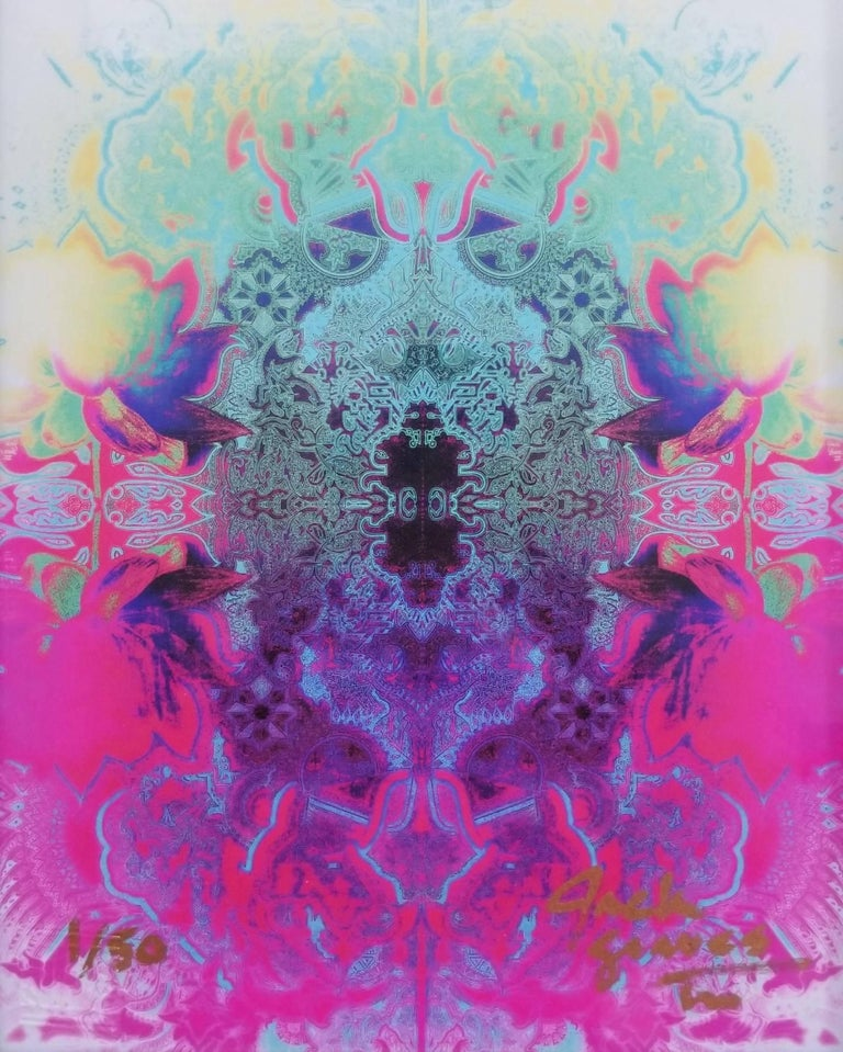 Jack Graves III Abstract Print - Lotus Flower
