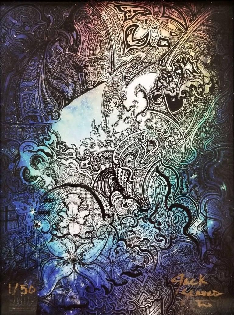 Jack Graves III Abstract Print - Swim