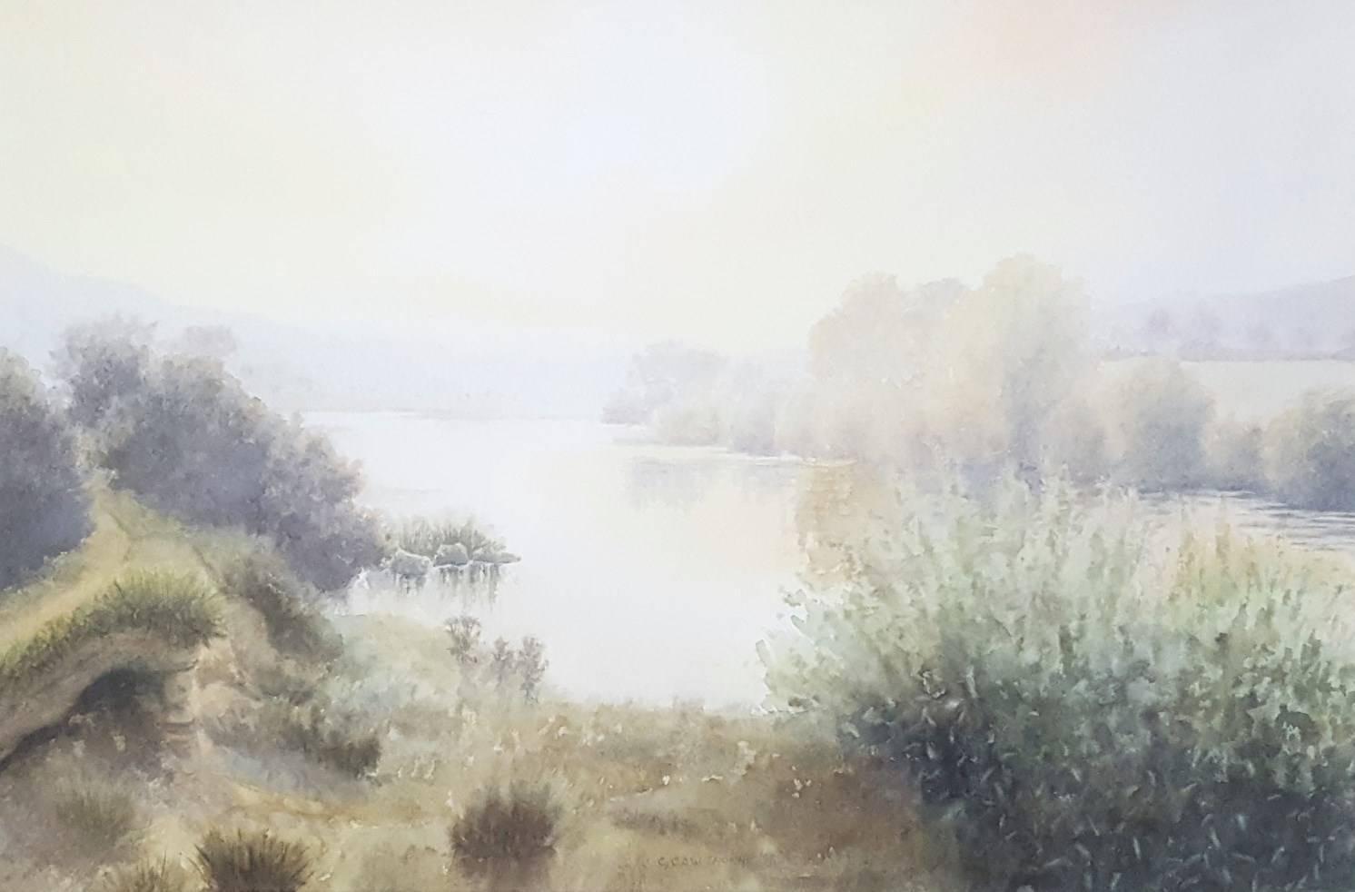 River Tyne Between Hexham and Corbridge, Fully Framed