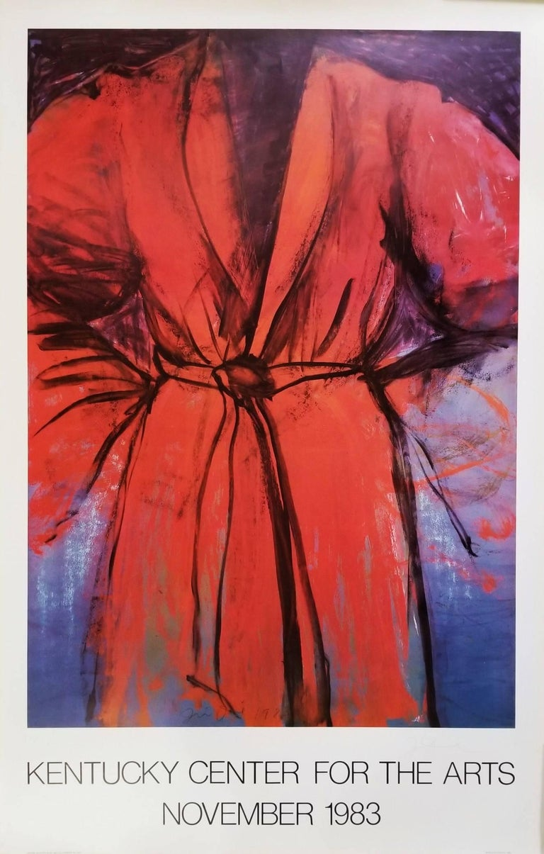 (after) Jim Dine - Kentucky Center for the Arts, Signed Exhibition Poster 1