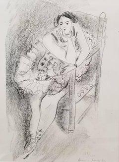 Dancer in Wooden Armchair (Duthuit 483)