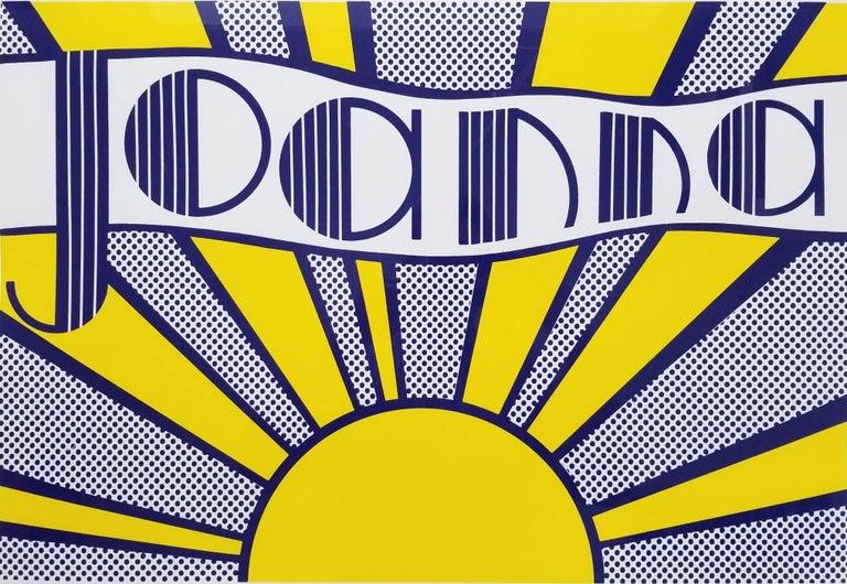 Roy Lichtenstein Landscape Print - Joanna (III.24)
