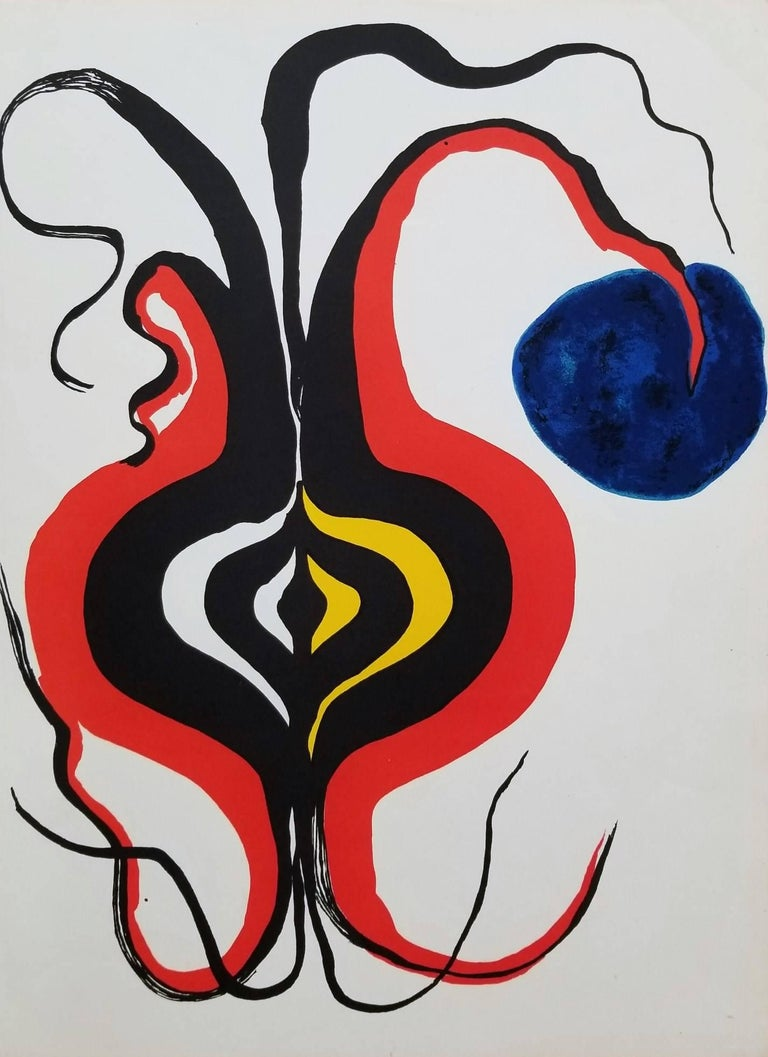 Alexander calder derri re le miroir no 156 the onion for Derriere le miroir