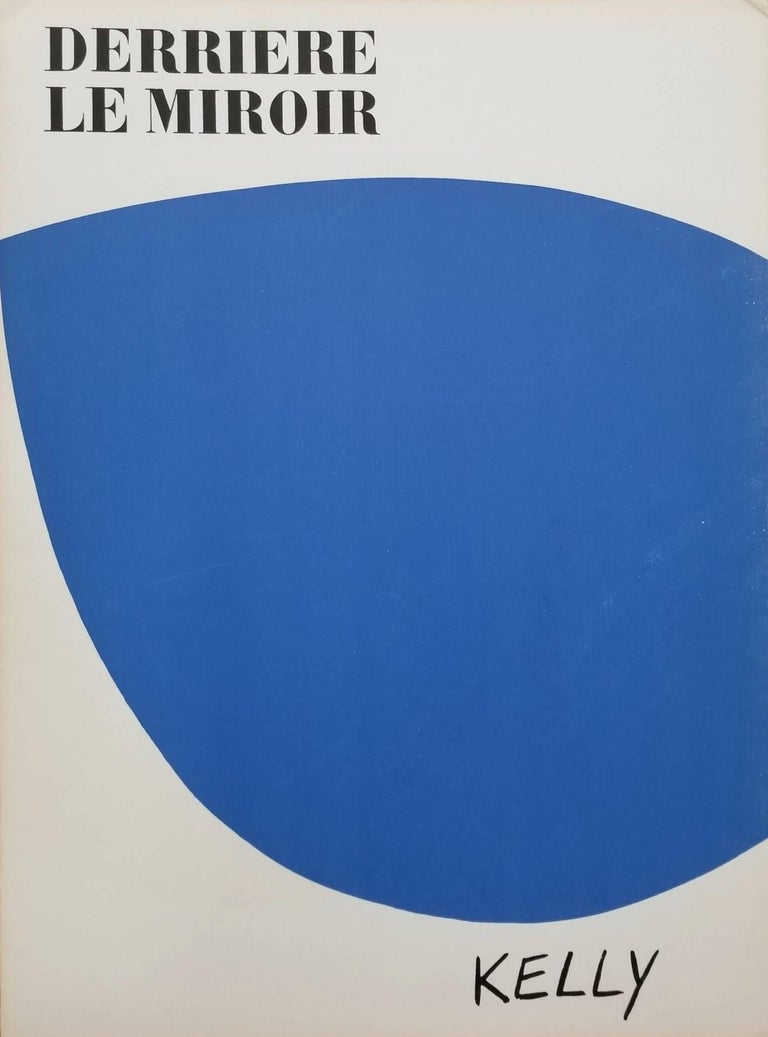 Ellsworth Kelly Abstract Print - Derrière Le Miroir No. 110 (front cover)