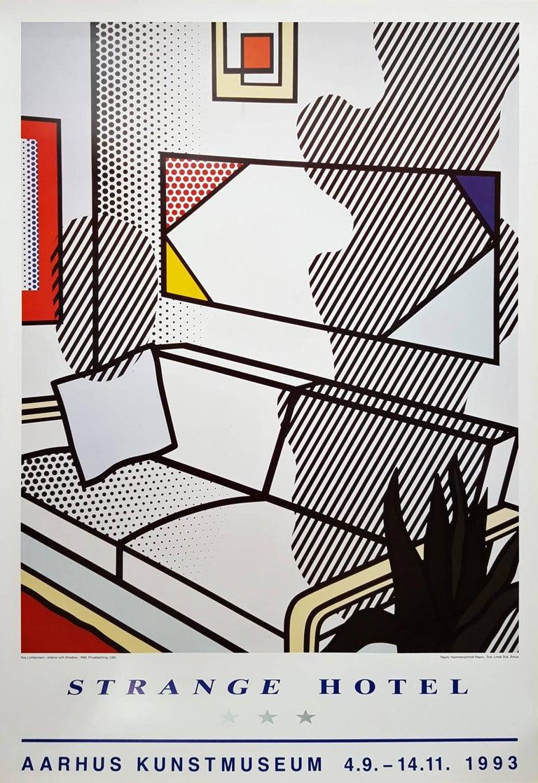 Roy Lichtenstein - Strange Hotel 1