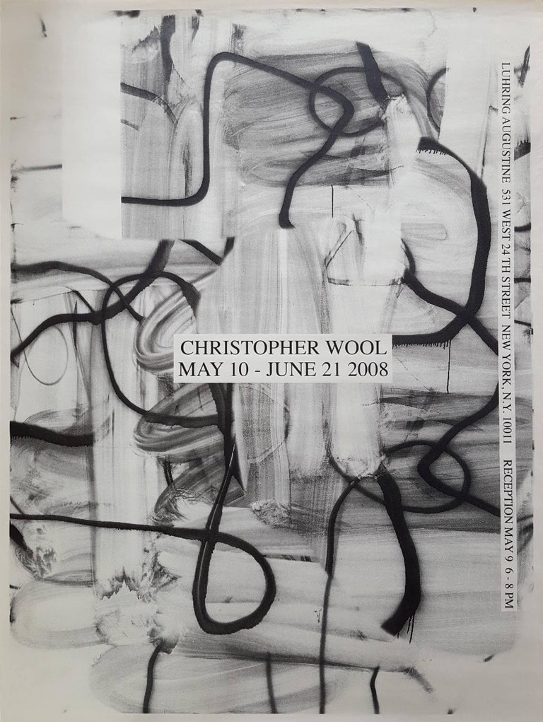 Christopher Wool Abstract Print - Luhring Augustine