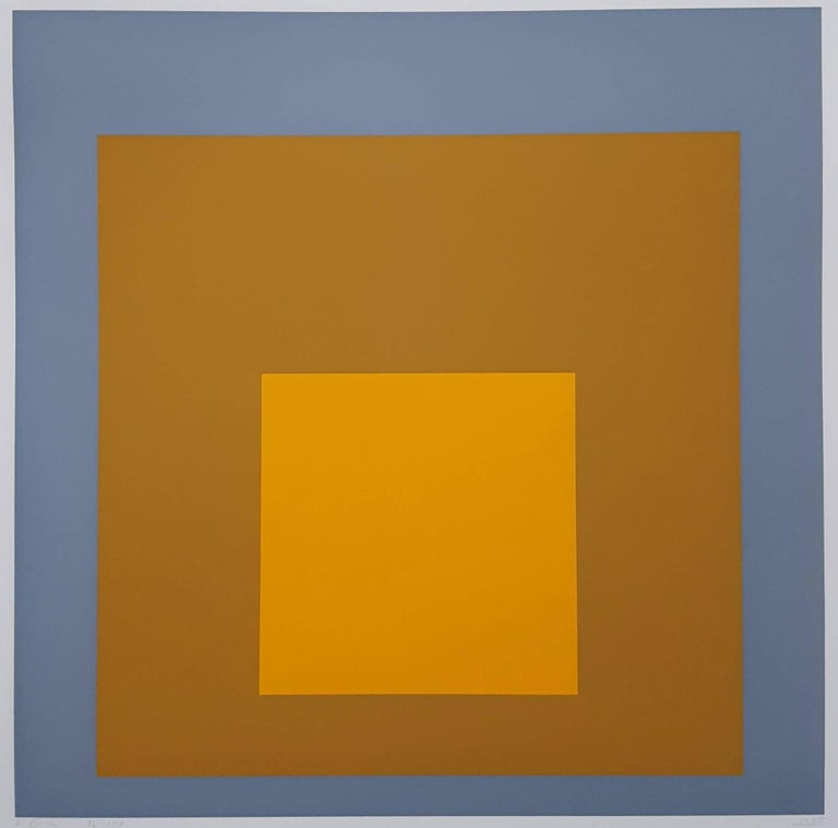 Josef Albers Abstract Print - FGa