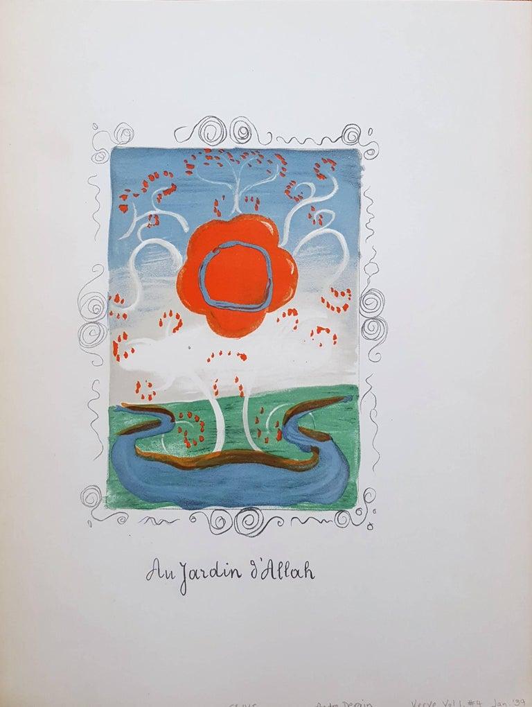 Au Jardin d'Allah (Set of Two) - Print by André Derain