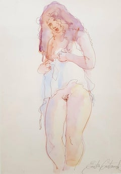 Nude in Negligee