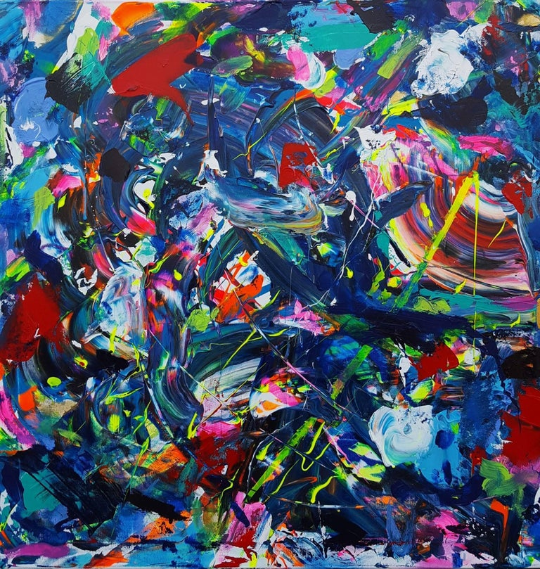 Jack Graves III Abstract Painting - Summer