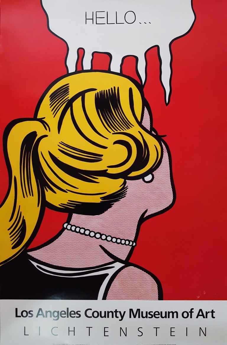 after) Roy Lichtenstein - Los Angeles County Museum of Art, Print ...