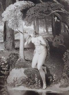 Nude in Woods