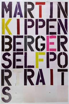 Martin Kippenberger: Self Portraits