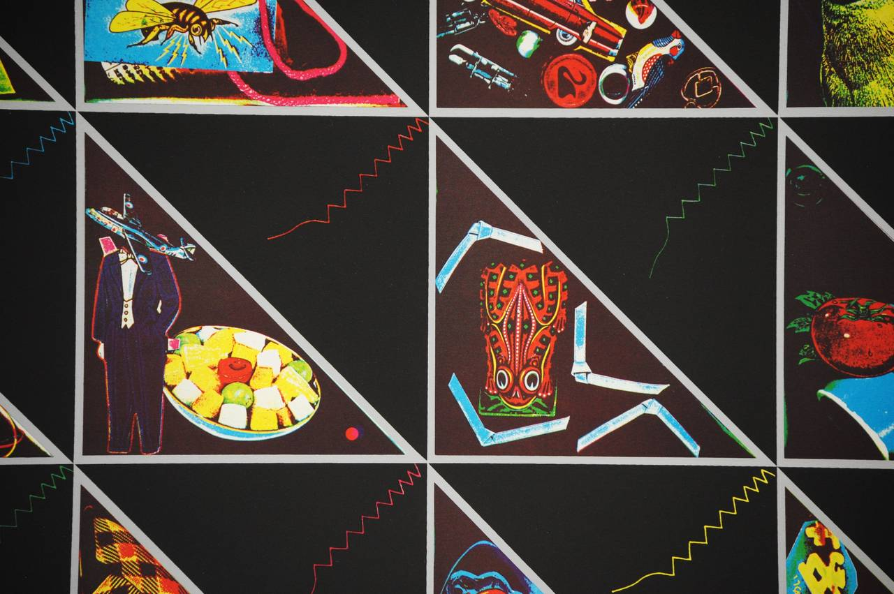 Triangle Quilt - Print by Ron Gasowski