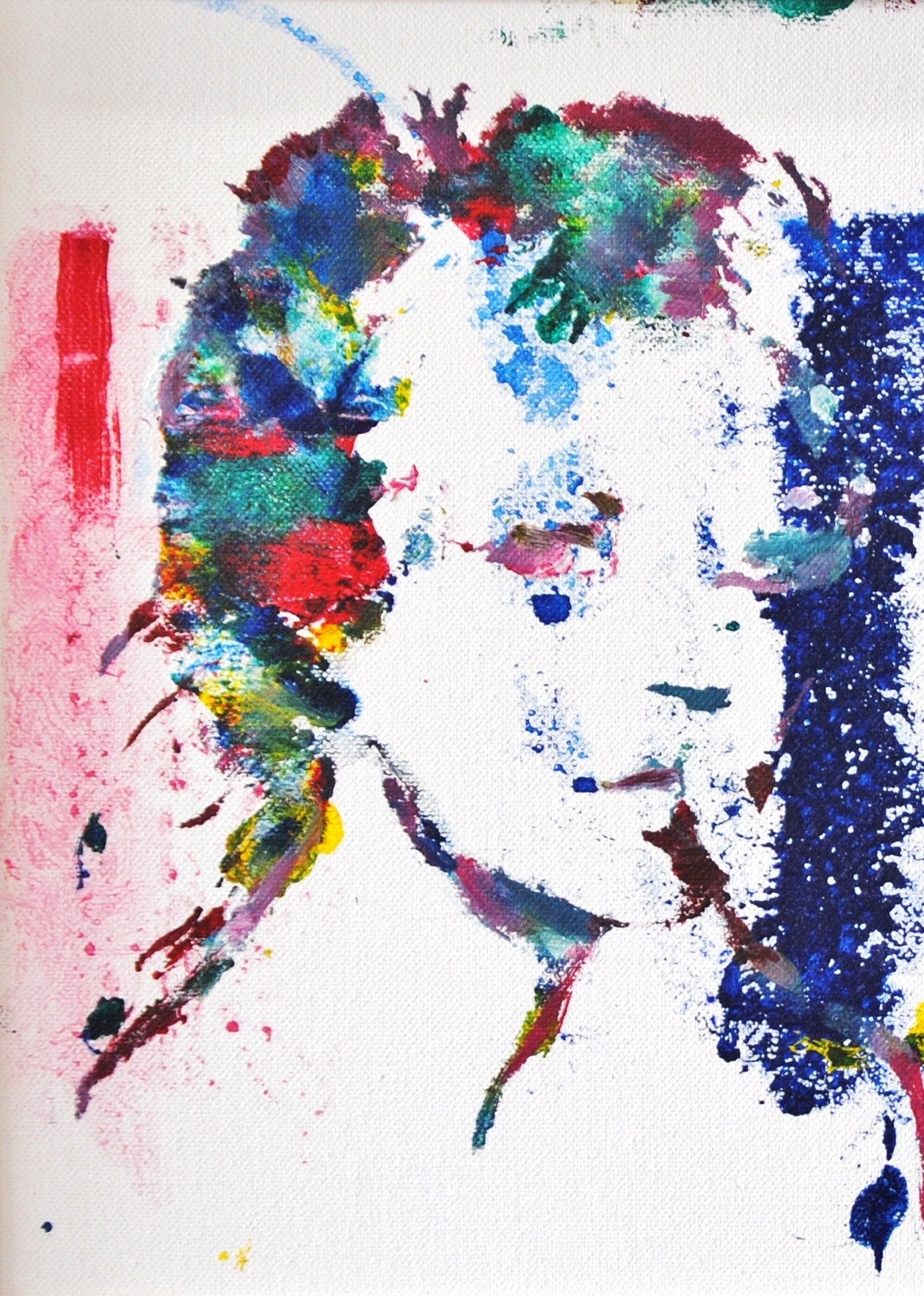 2XKM (Two Times Kate Moss) - Pop Art Painting by Jack Graves III