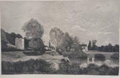 Etching Landscape Prints