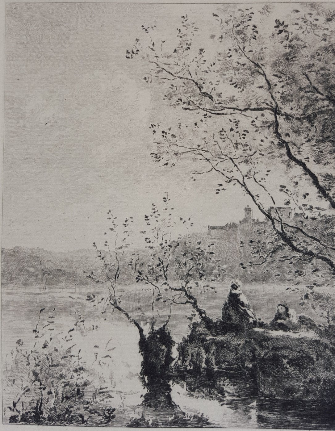 Jean Baptiste Camille Corot Garda Lake Print For Sale