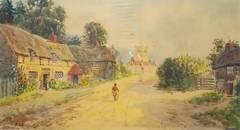 Alfred Durham - Cottage Lane