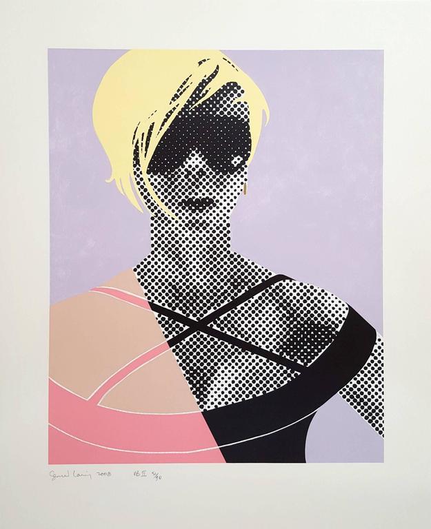 VB II - Victoria Beckham - Print by Gerald Laing