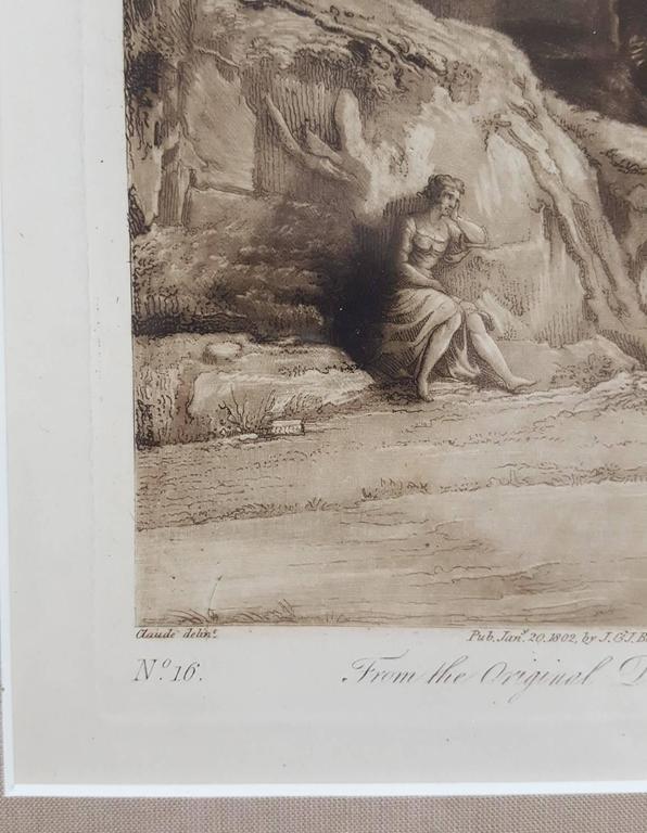 Liber Veritatis - Baroque Print by (after) Claude Lorrain (Claude Gellée)