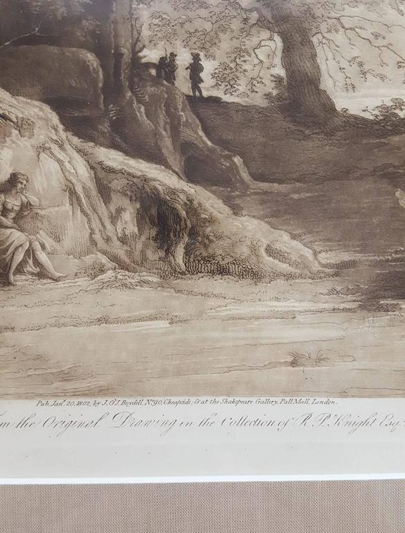 Liber Veritatis - Gray Landscape Print by (after) Claude Lorrain (Claude Gellée)