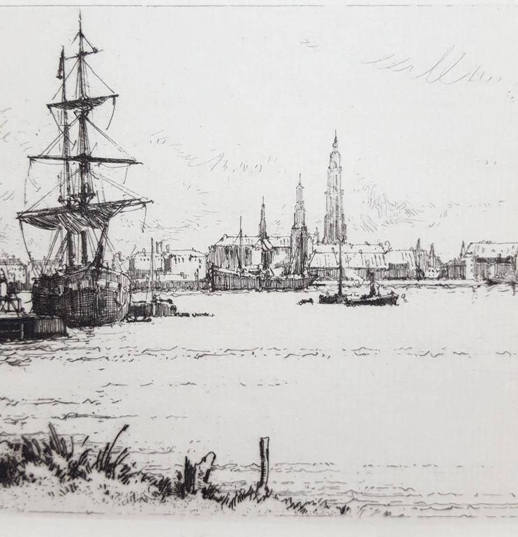 Le Quai du Rhin, Anvers For Sale 1
