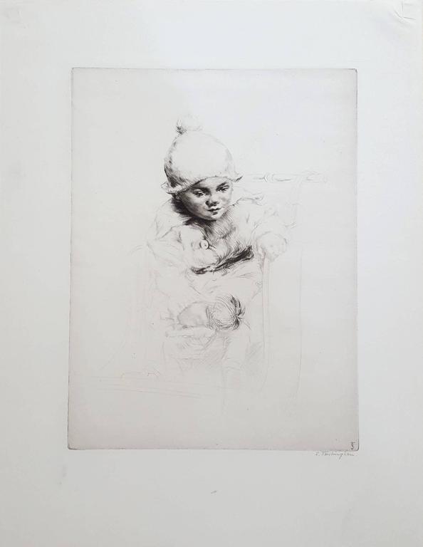 Peggy - Print by Sidney Tushingham