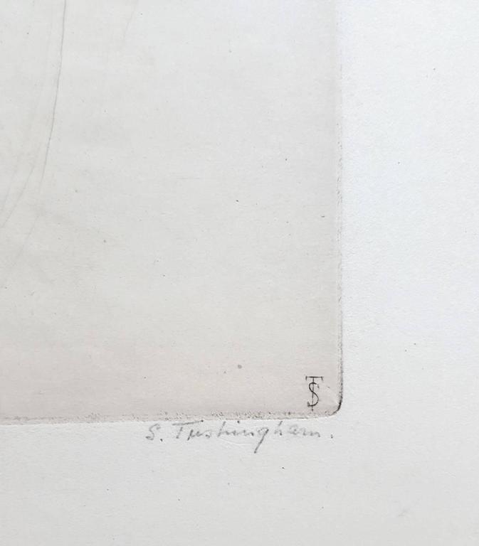 Peggy - Impressionist Print by Sidney Tushingham