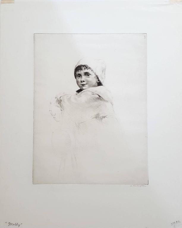 Molly - Print by Sidney Tushingham
