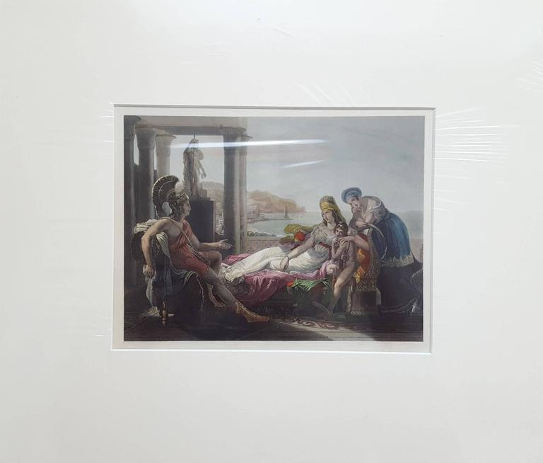 Dido and Aeneas - Print by Anonymous