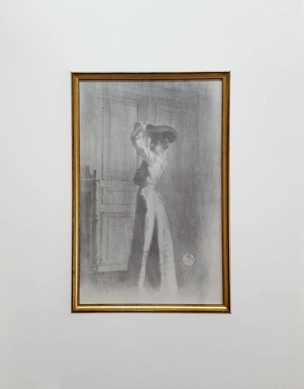 Parisienne - Print by Maurice Neumont