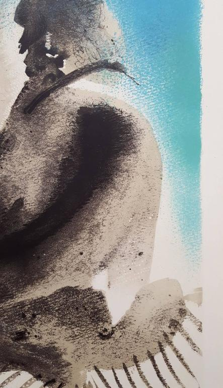 Galerie Louis Leiris: The Painter & His Model - Gray Figurative Print by (after) Pablo Picasso