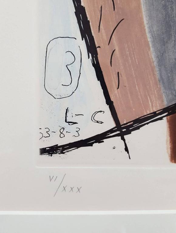 Unité, Planche 3 (Set of 2) - Print by Le Corbusier