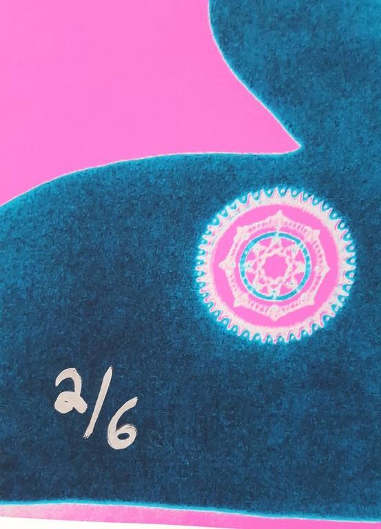 Guinevere Van Seenus Icon (Pink) - Print by Jack Graves III