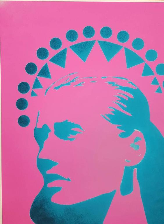 Guinevere Van Seenus Icon (Pink) For Sale 2