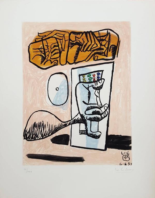 Unité, Planche 4 (Set of 2) - Print by Le Corbusier