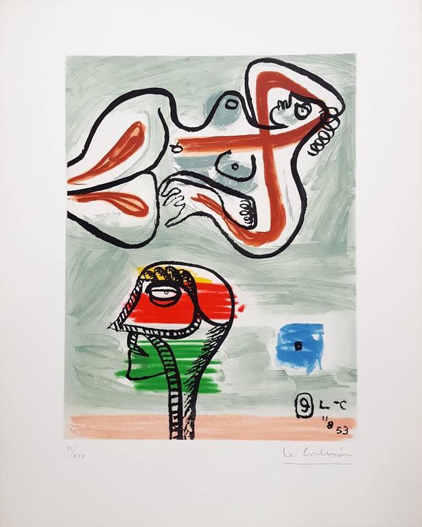 Unité, Planche 9 (Set of 2) - Print by Le Corbusier