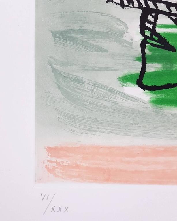 Unité, Planche 9 (Set of 2) - Surrealist Print by Le Corbusier