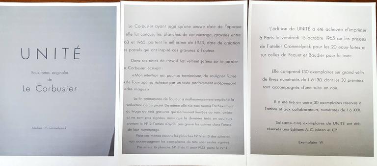 Unité, Planche 9 (Set of 2) 5