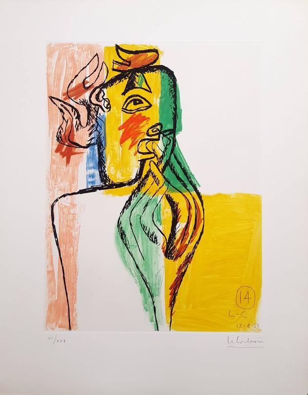 Unité, Planche 14 (Set of 2) - Print by Le Corbusier