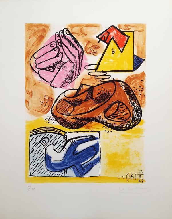 Unité, Planche 16 (Set of 2) - Print by Le Corbusier