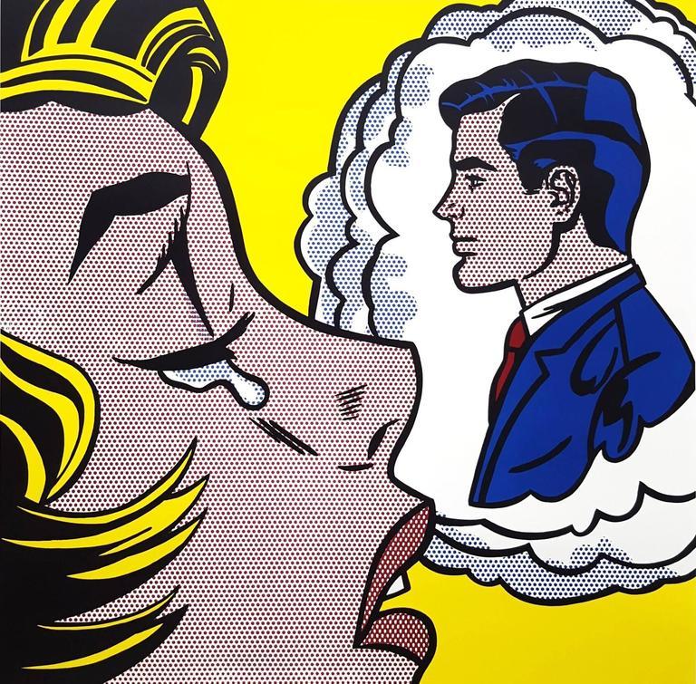 Thinking of Him - Print by (after) Roy Lichtenstein