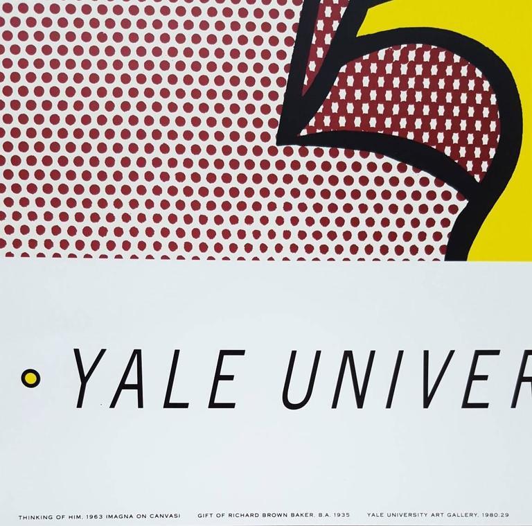 Thinking of Him - Pop Art Print by (after) Roy Lichtenstein