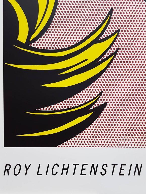 Thinking of Him - Beige Figurative Print by (after) Roy Lichtenstein