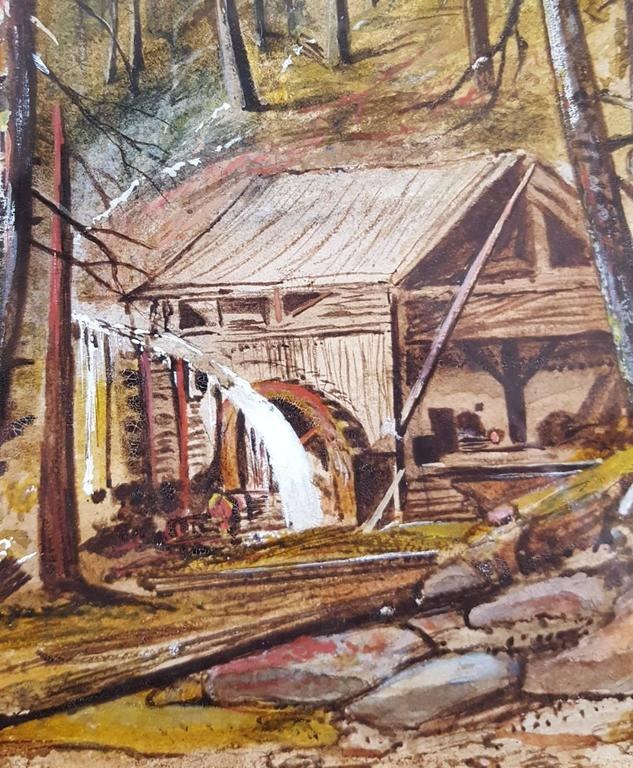 Old Mill in Alpine Landscape For Sale 4